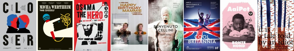Genomineerde theateraffiches van seizoen 2014-2015