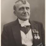 Louis Bouwmeester:  Foto F. Geveke, 1922.