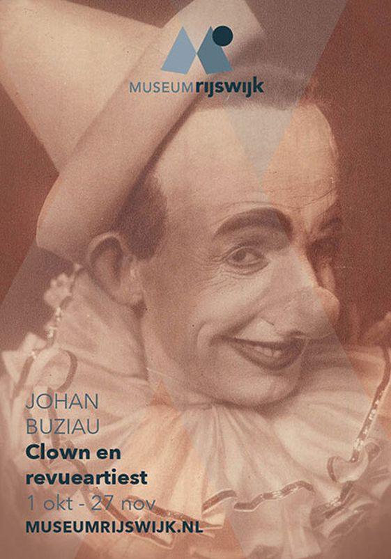 Tentoonstelling Johan Buziau (1877-1958), clown en revueartiest