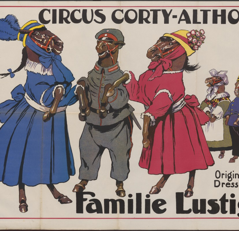 Theatersalon 29 november : 250 jaar circus, van 1768 tot nu
