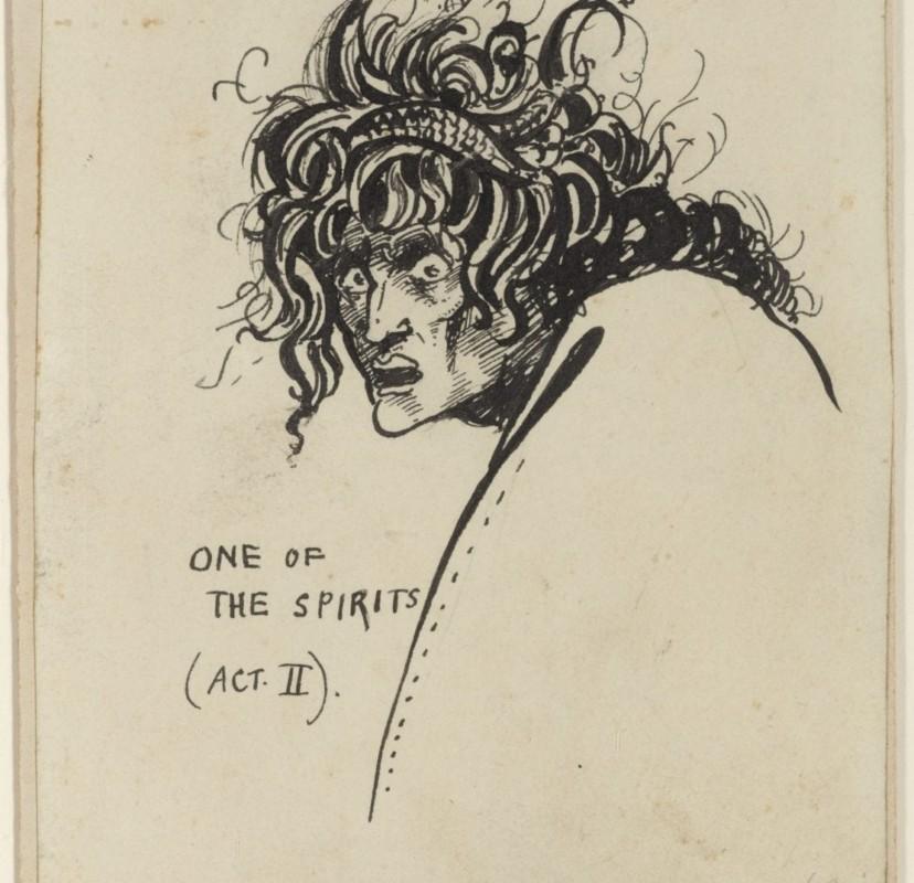 Unieke Beardsley bij de theatercollectie